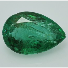 NATURAL EMERALD PEAR CUT 1,53