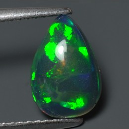 BLACK OPAL NATURAL PEAR CUT CT.1,25