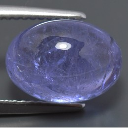 NATURAL TANZANITE CABUCHON 6,66 CT.