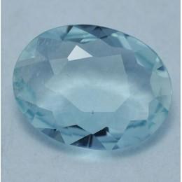 NATURAL BLUE AQUAMARINE CT. 1,78