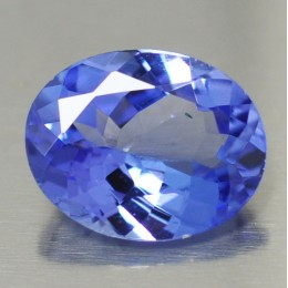 NATURAL TANZANITE OVAL SHAPE 1,20 CT.