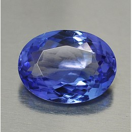 NATURAL TANZANITE OVAL SHAPE 1,35 CT.