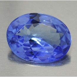 NATURAL TANZANITE OVAL SHAPE 1,25 CT.