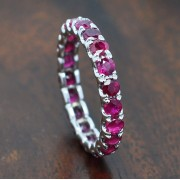 ETERNITY RED RUBY RING