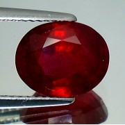 NATURAL RUBY OVAL SHAPE CT. 4,47