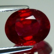 NATURAL RUBY OVAL SHAPE CT. 3,93