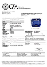 certificato GEA